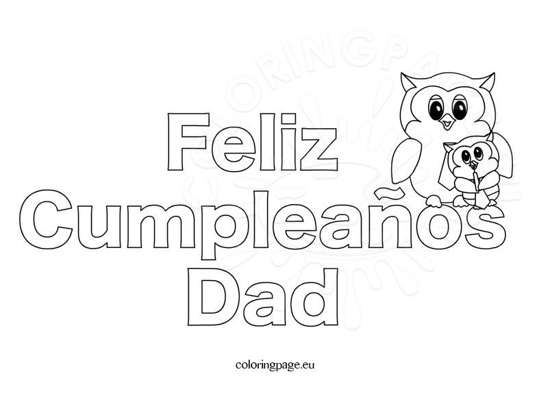 Feliz cumpleaños dad