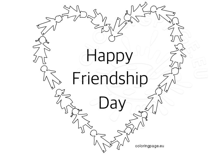 Happy Friendship Day Heart
