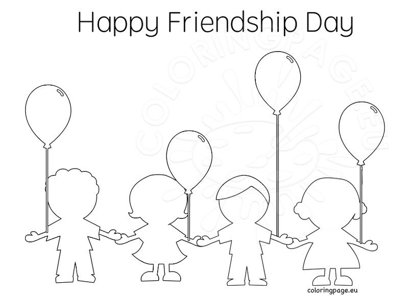 Happy Friendship Day With Cute Kids