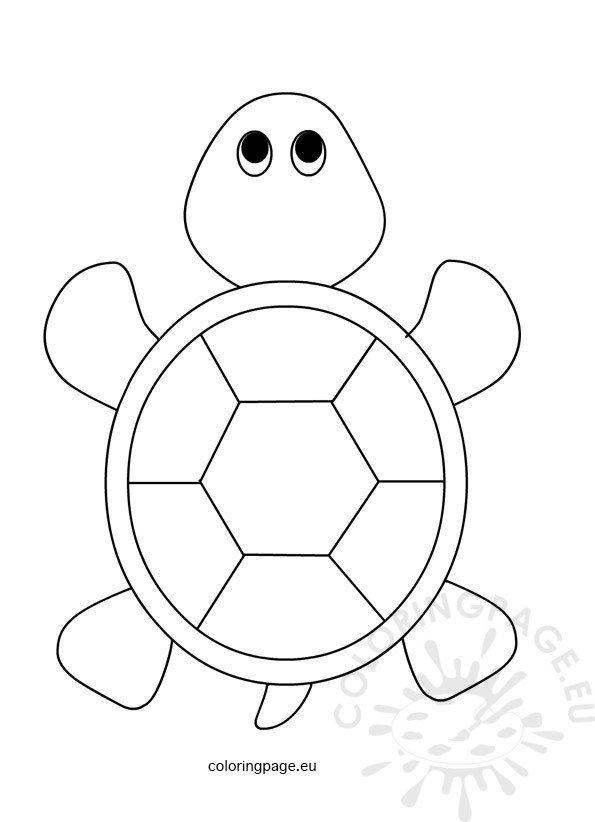 Sea Turtle for kids Coloring