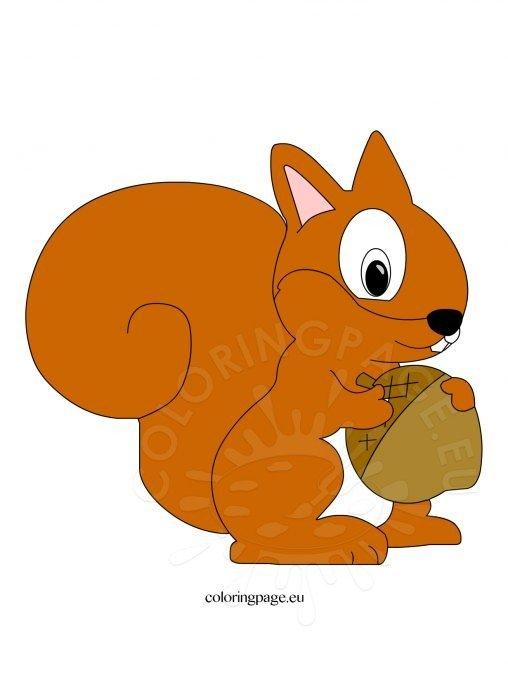 clip art cartoon squirrel - photo #48