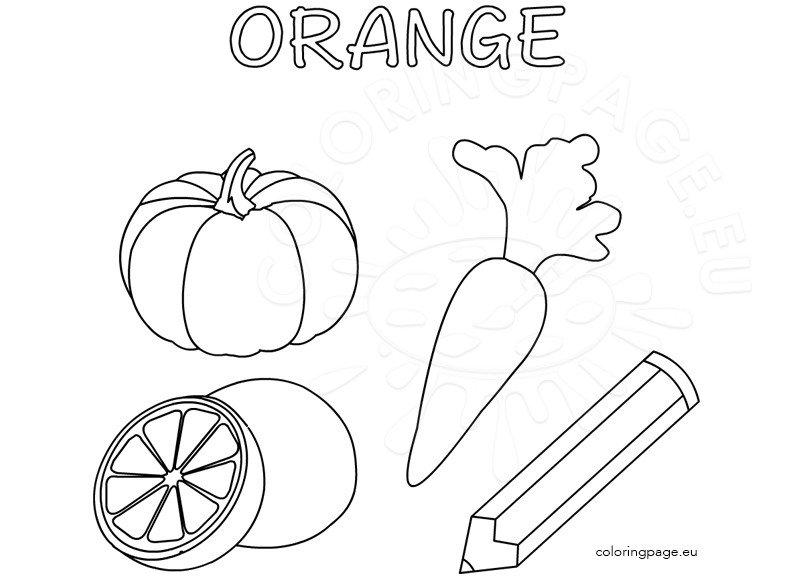 coloring pages orange - photo#30
