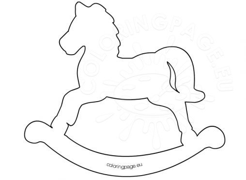 Printable Rocking Horse Patterns Patterns Kid