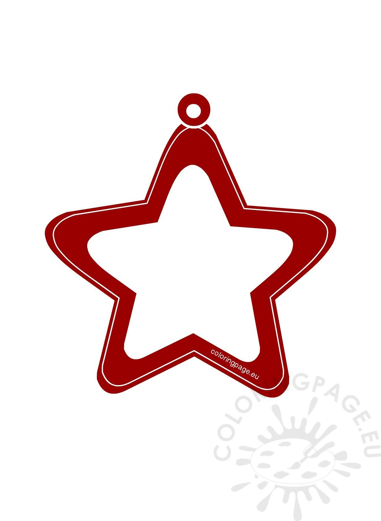White Paper Star Red