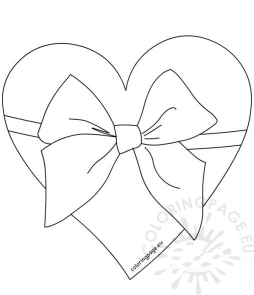 red ribbon coloring pages - red ribbon bow coloring page coloring pages