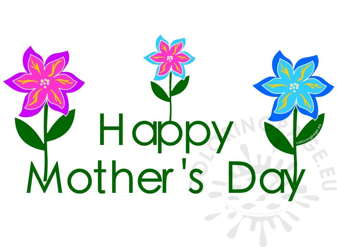 Clipart mothers day 2017 flowers