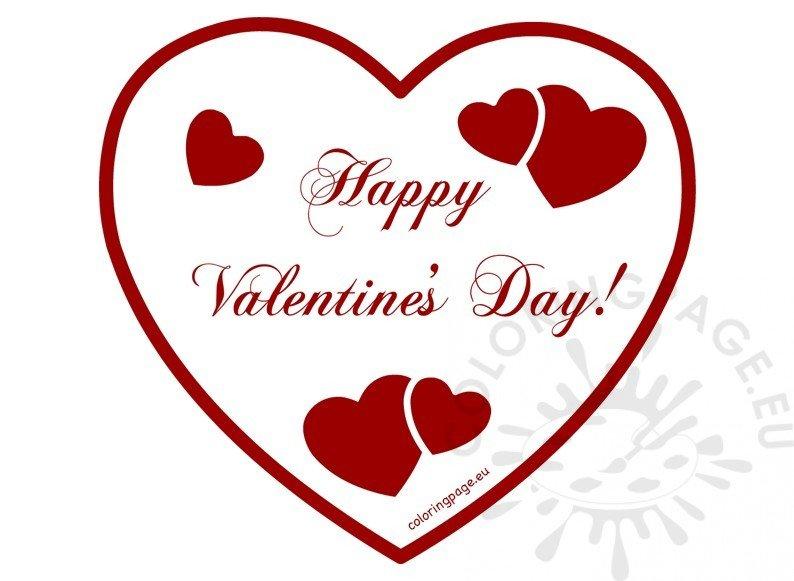 Happy Valentines Day 2017 clipart