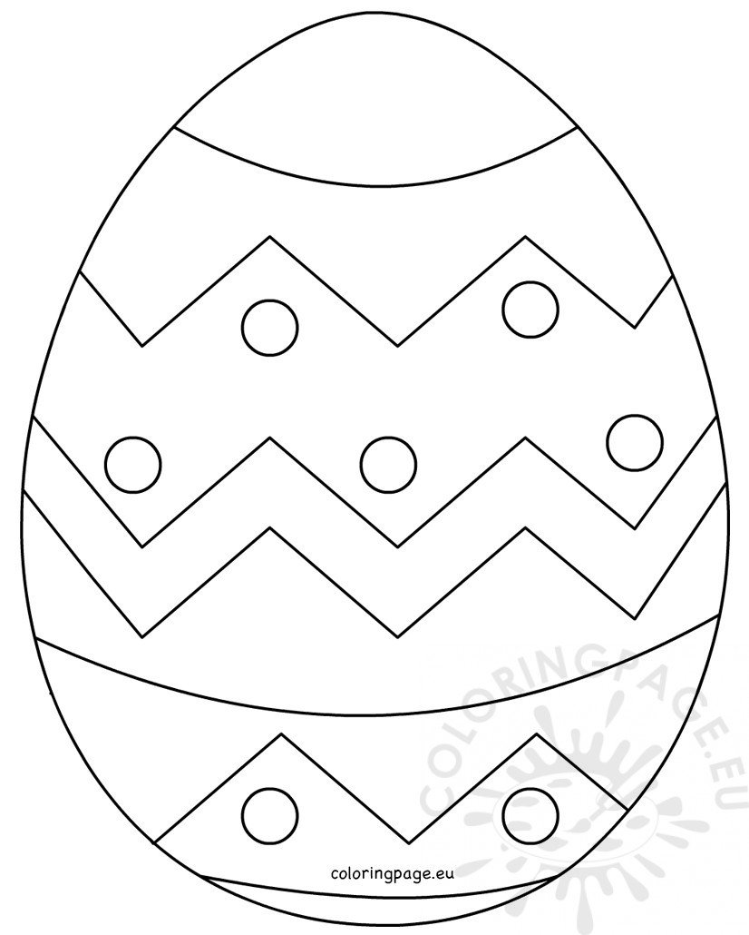 large easter coloring pages - photo#25