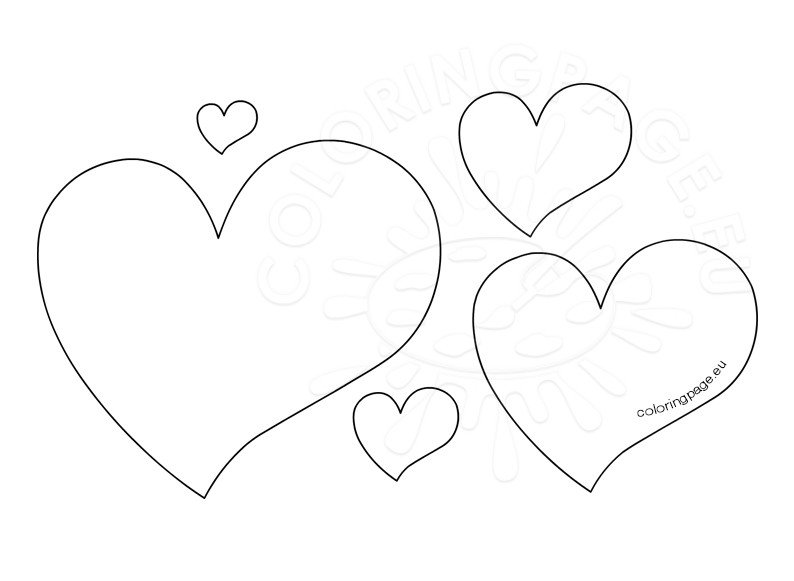 photo relating to Printable Heart Patterns titled Printable Middle Habits Coloring Website page