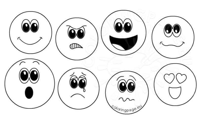 Set of emoticons design