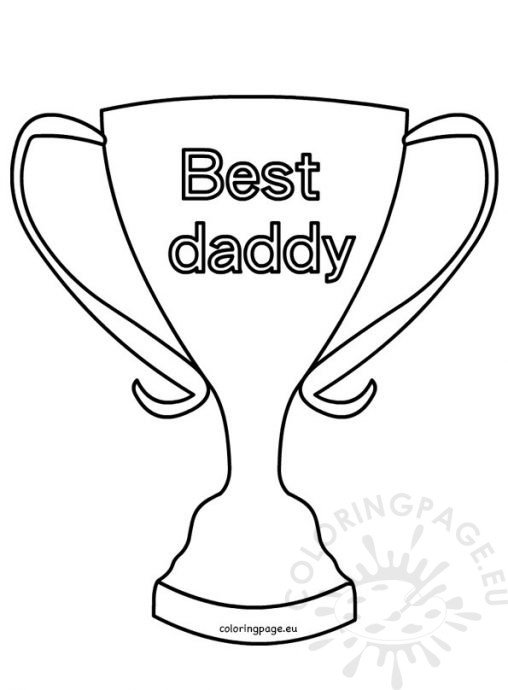 Father 39 s Day Coloring Page
