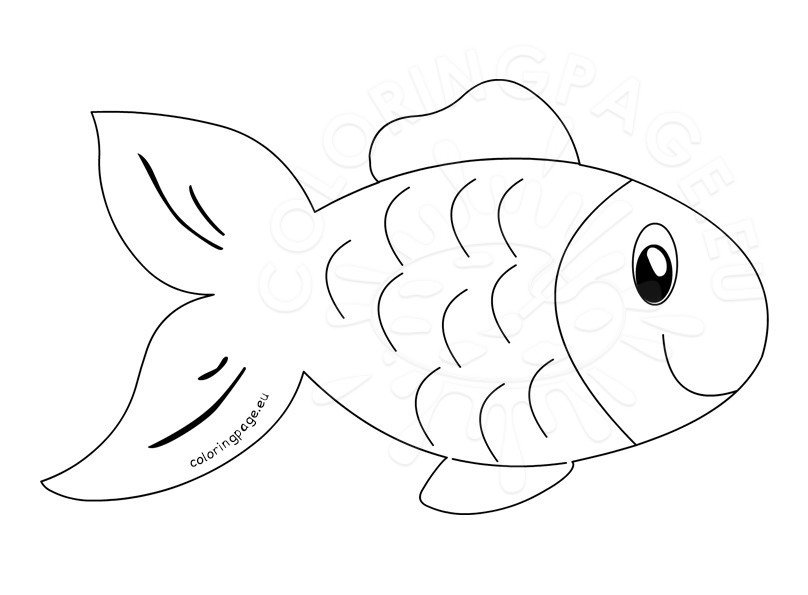 Fish clip art outline