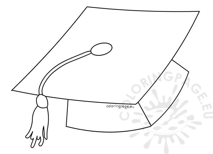 graduation coloring pages 2017 - graduation cap coloring page 2016 coloring page