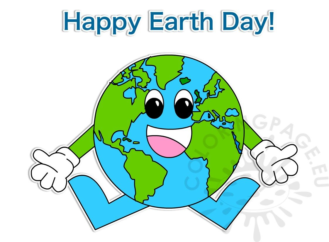 Happy Earth Day April 22 clipart