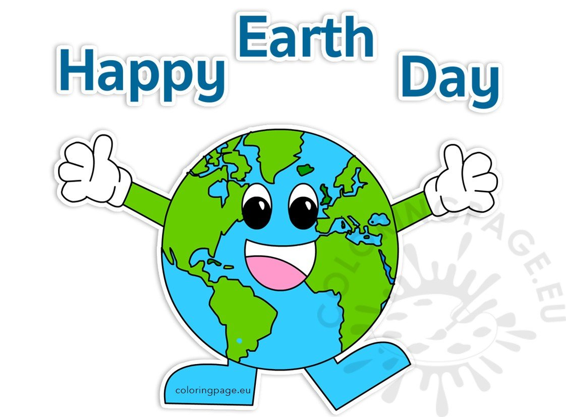 Happy Earth Day 2017 clipart