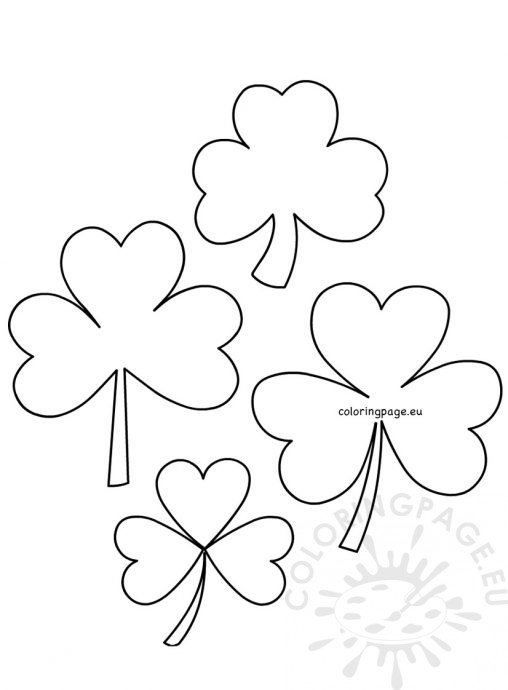 St. Patrick'S Day - Coloring Page