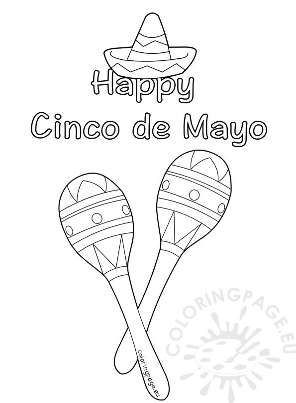 11 Places to Find Free Cinco de Mayo Coloring Pages | 808x595