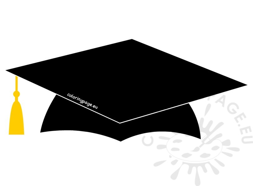 Printable School Graduation Cap