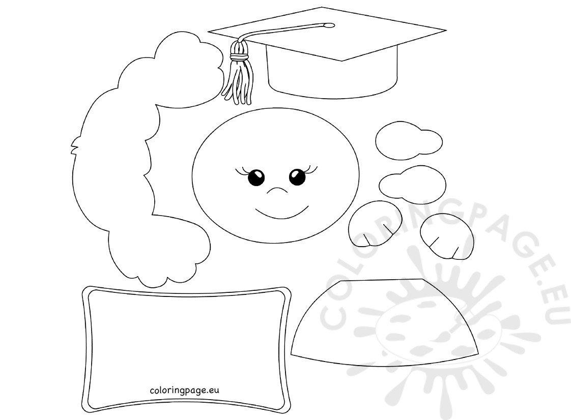 Happy graduation kid printable