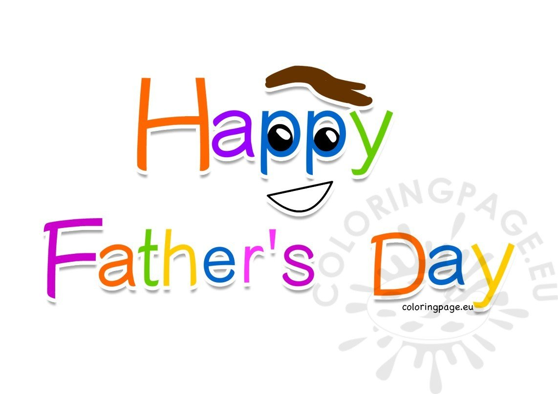 Happy Father's Day 2017 clipart