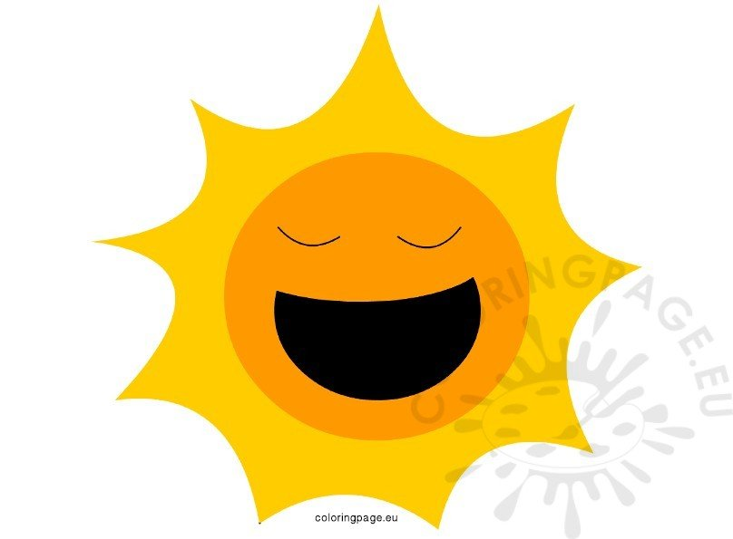 Happy Sun Summer vector