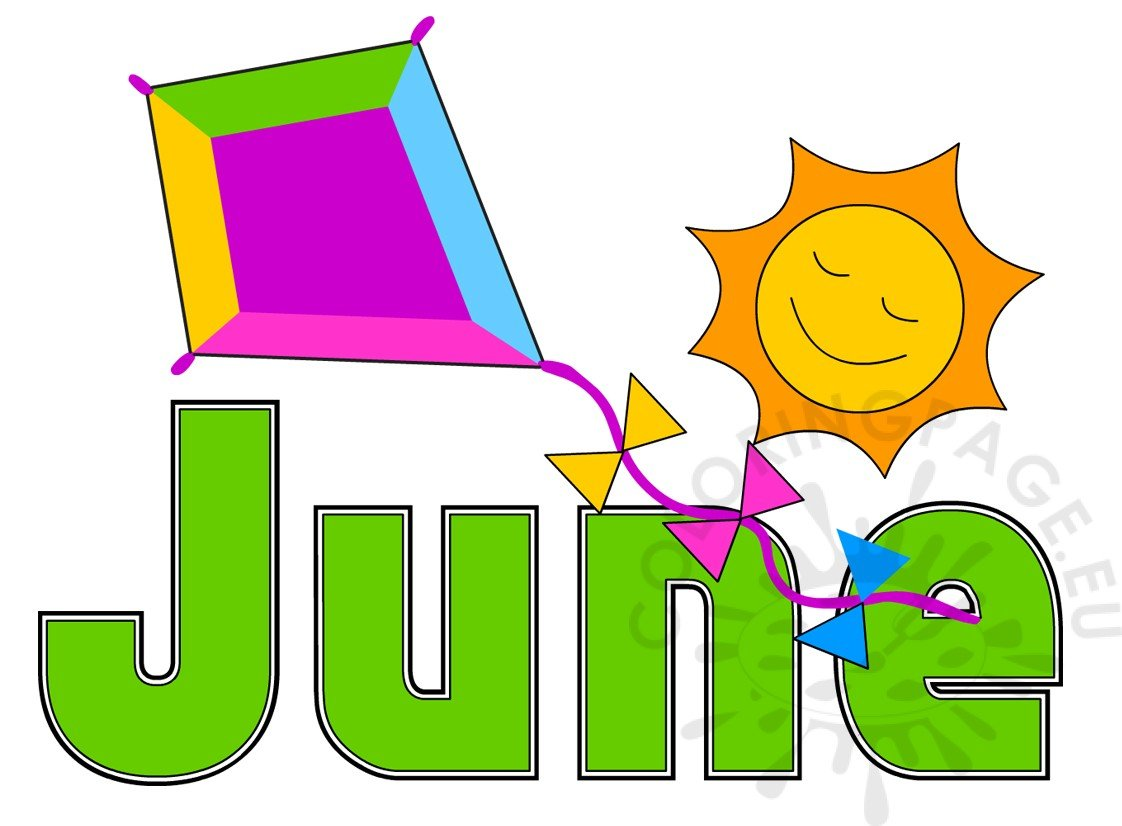 Summer Month June Image