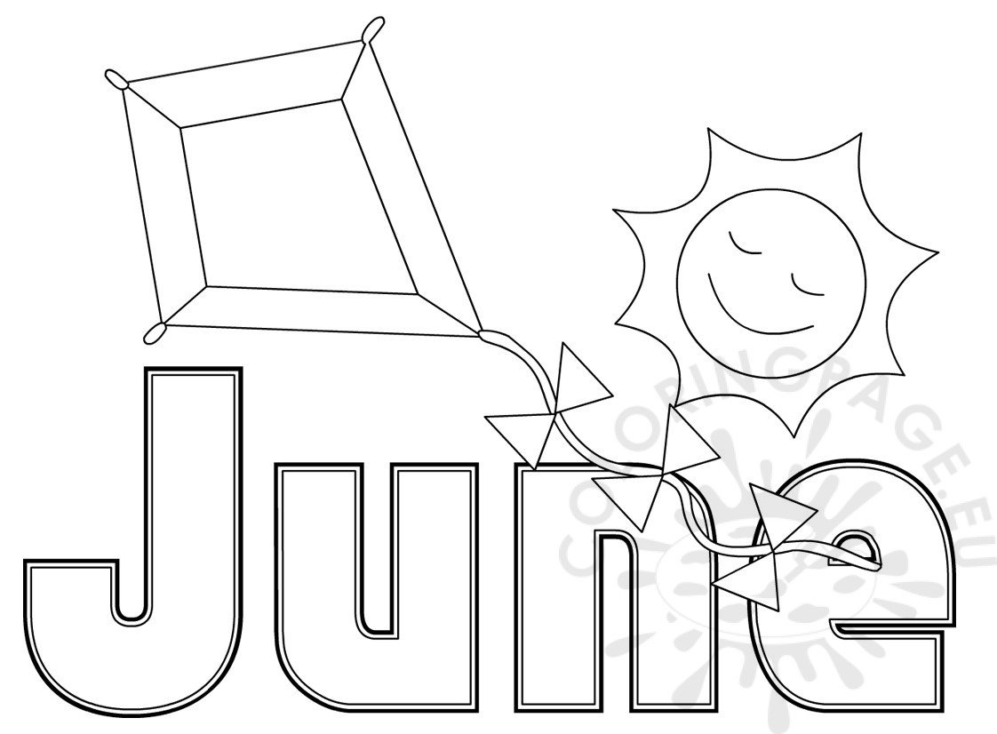 june coloring sheets - Seatle.davidjoel.co