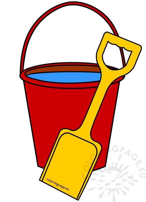 Red Sand Beach Bucket