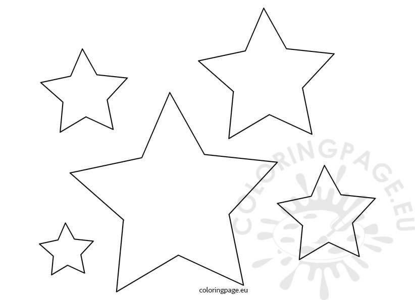 4th of July Free Star Patterns