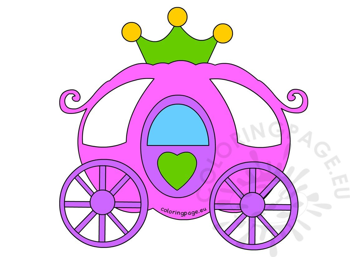 Pink Princess carriage Images