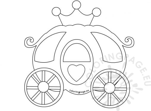 pumpkin carriage coloring book