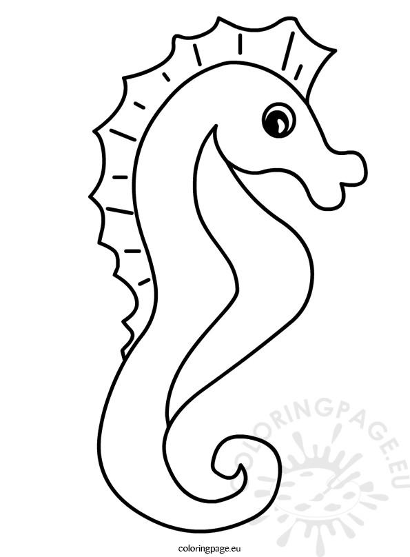 Sea animal Cute Seahorse illustration