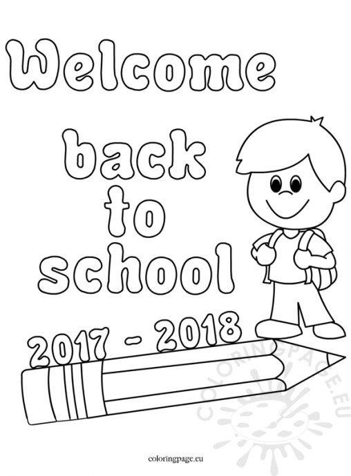 Kleurplaat Owl School Coloring Page