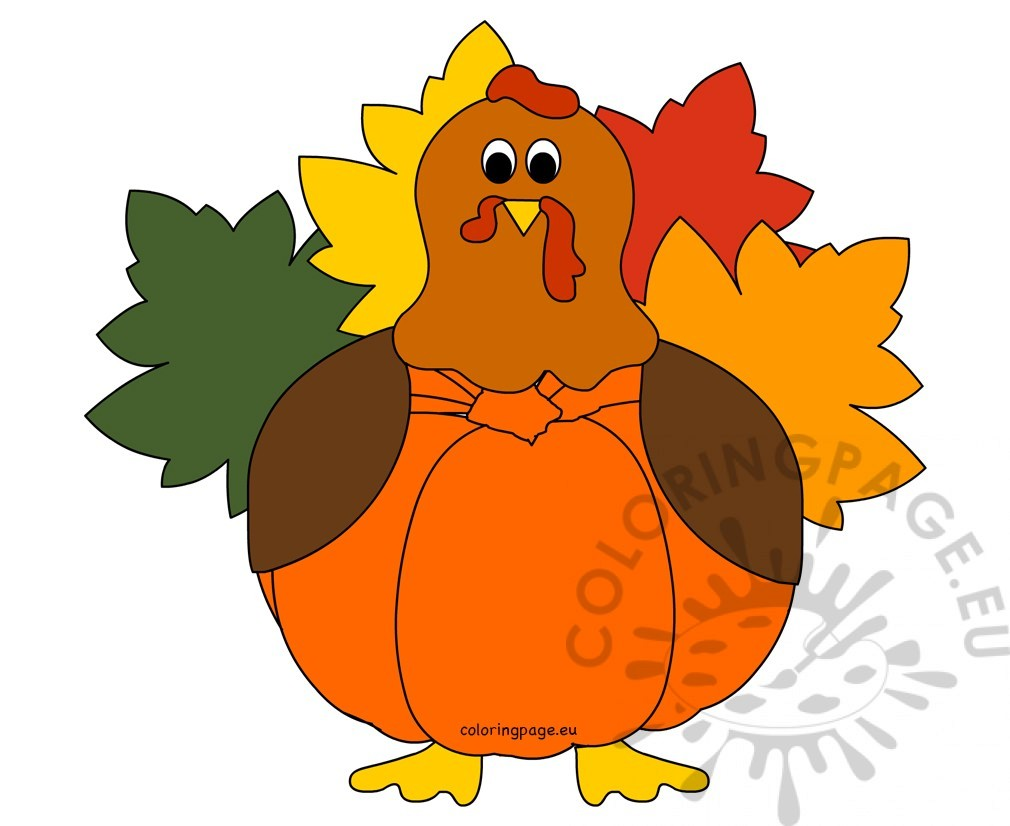 Pumpkin Turkey Thanksgiving Craft