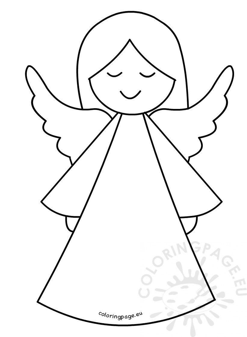 Ridiculous image throughout angel templates printable free
