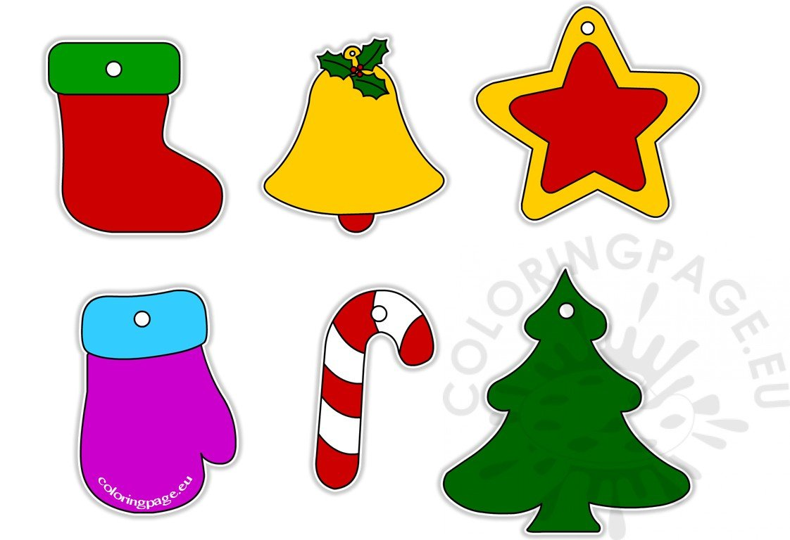 Christmas Tree Decoration Clipart