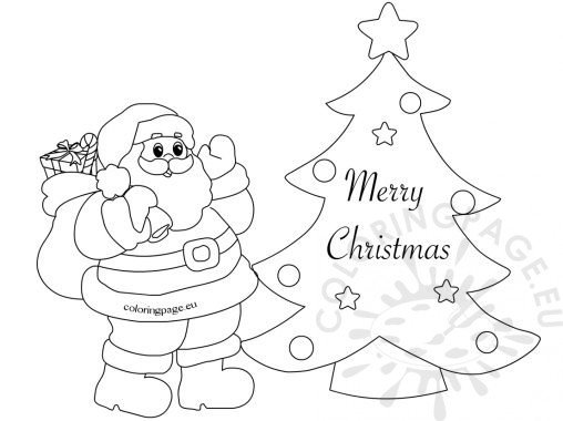christmas greeting cards coloring pages | Coloring Page