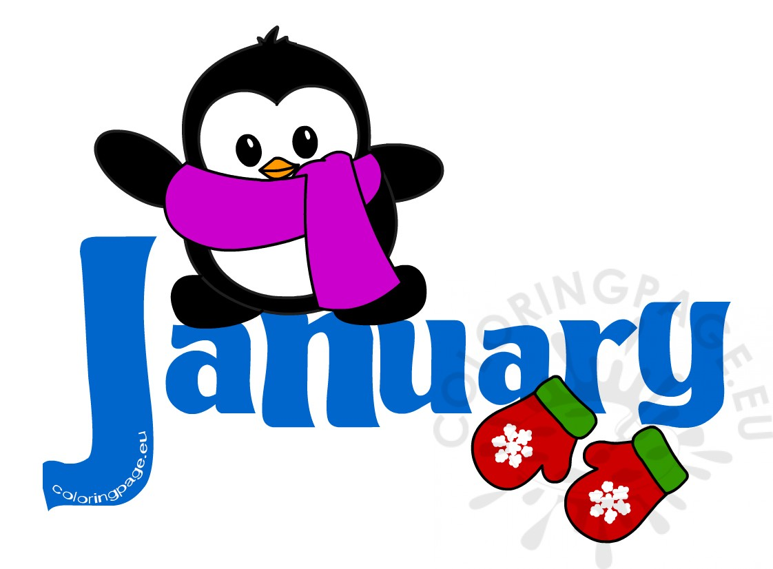 Month January clip art pictures