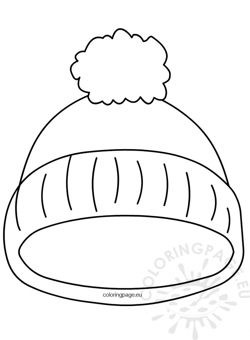 Kindergarten Printable hat template