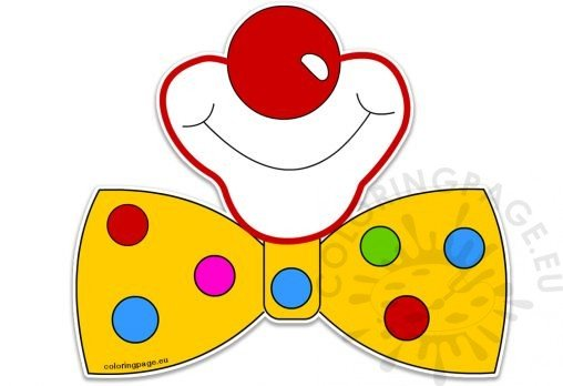 clown mouth coloring pages - photo#37