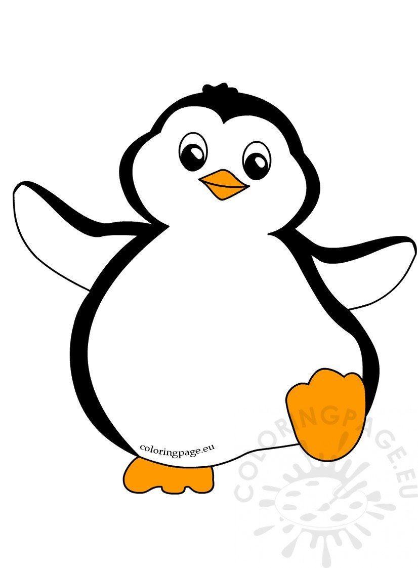 funny penguin clipart dancing coloring page rh coloringpage eu penguin clip art pictures penguin clip art black and white