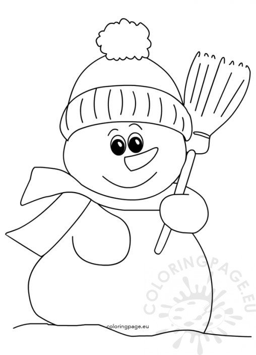broom tree coloring pages - photo#6