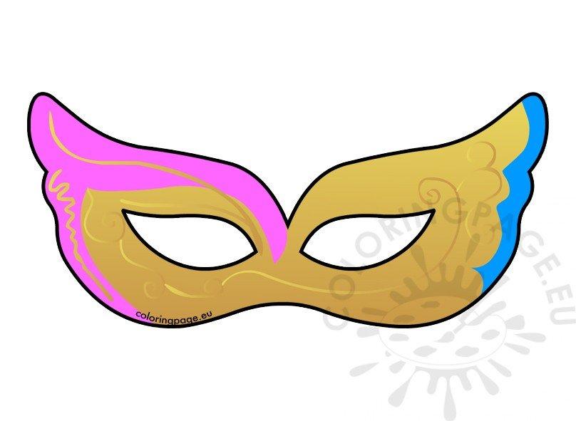 Venetian carnival mask clipart