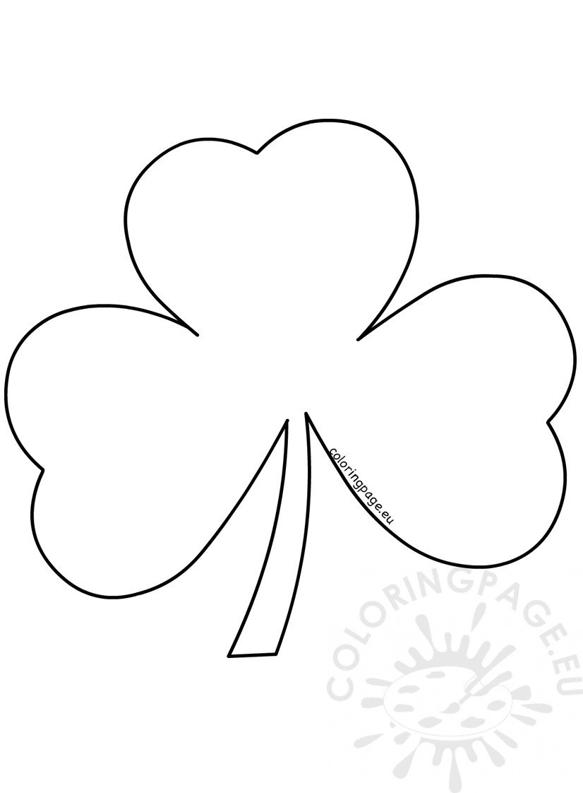 St. Patrick's Day Craft Paper Shamrock