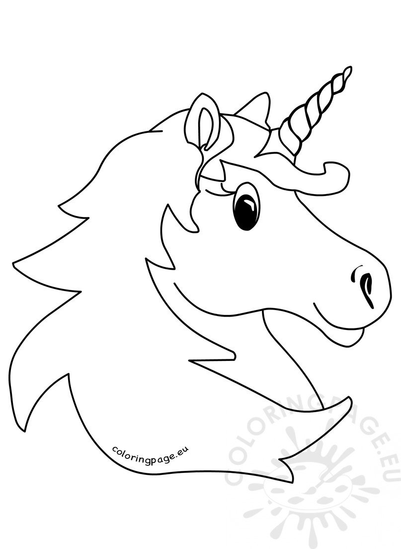 Vector illustration Magic unicorn