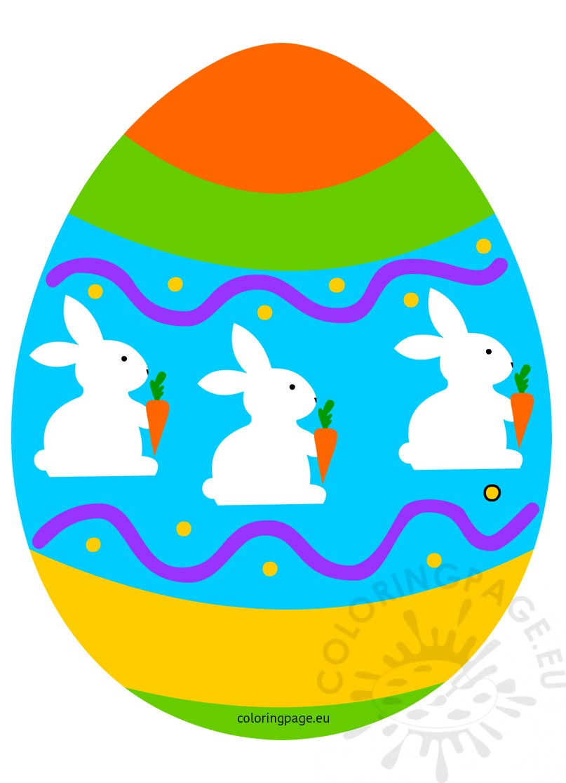 Easter egg with decor Clipart holiday