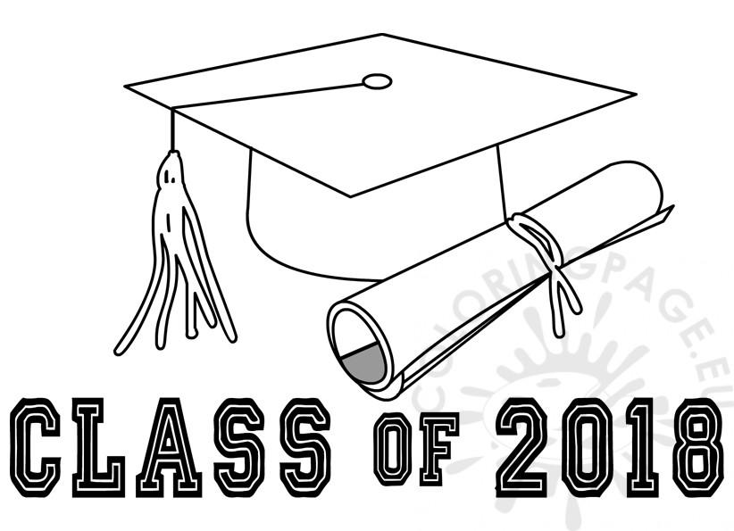Class Of 2018 Printable