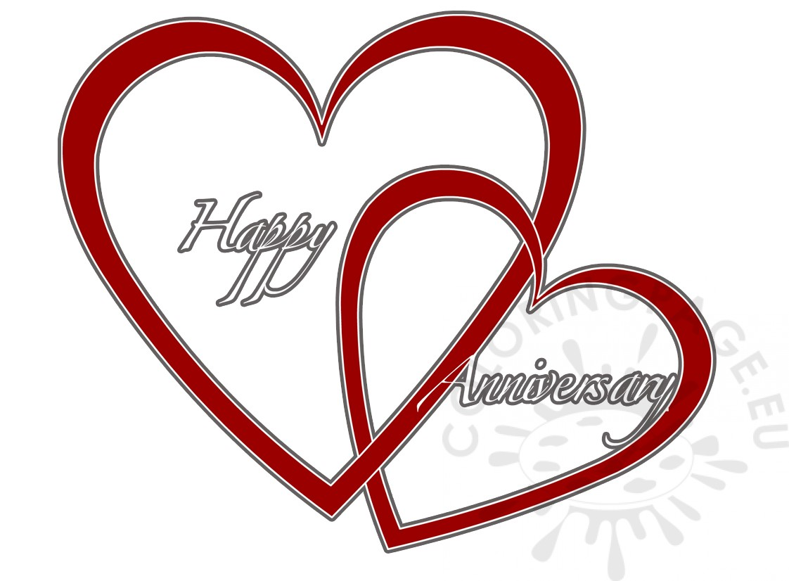 Happy Anniversary With Read Two Hearts