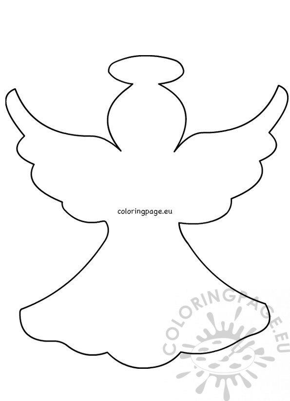 Christmas angel pattern Felt Ornaments