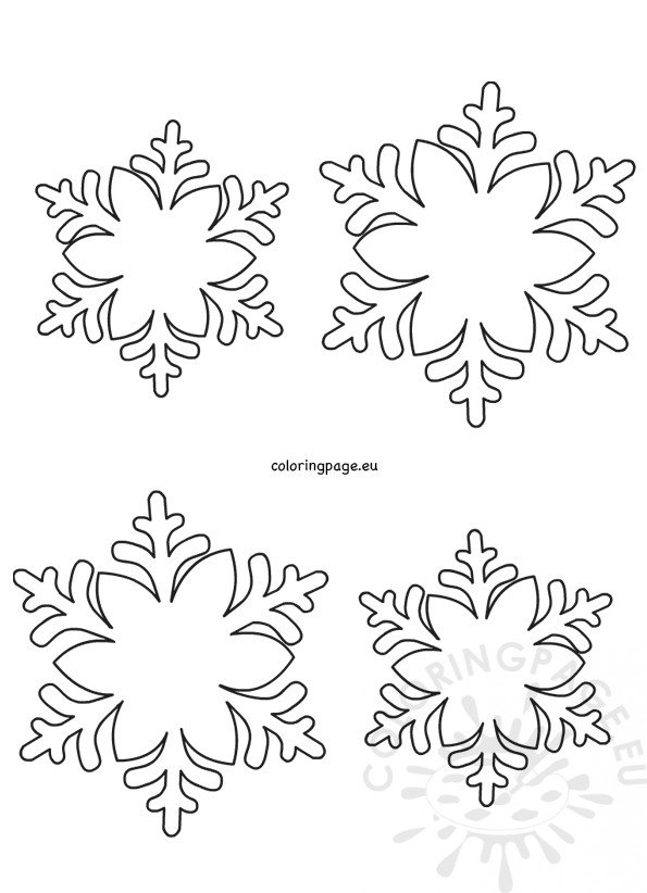 It's just a graphic of Snowflakes Printable in small